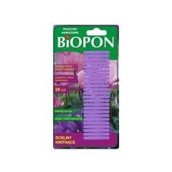 Pałeczki nawozowe na rośliny kwitnące BIOPON 30 szt.
