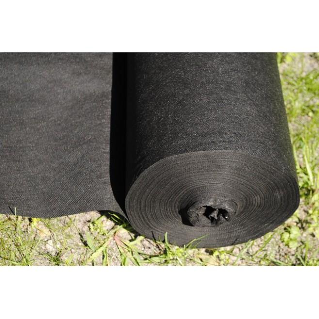 Agrowłóknina ściółkująca czarna  1,6 m.b.