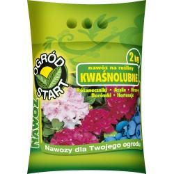 Nawóz na rośliny kwaśnolubne Ogród Start 2 kg